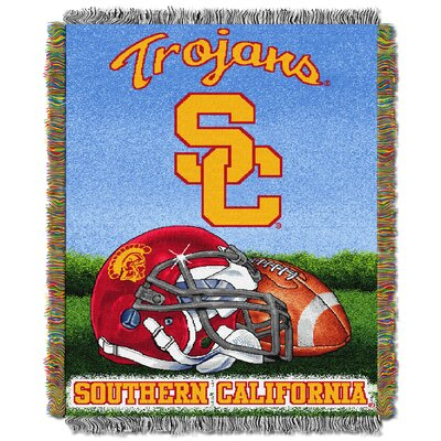 NCAA University of Southern California Tapestry Throw
