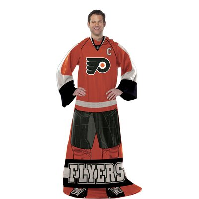 NHL Philadelphia Flyers Full Body Comfy Fleece Throw