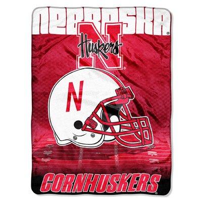 NCAA Nebraska Raschel Throw