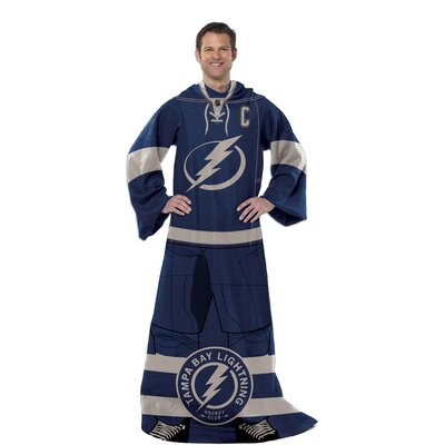 NHL Tampa Bay Lightning Full Body Comfy Fleece Throw