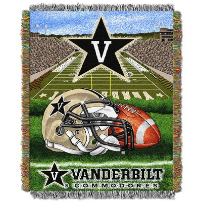 NCAA Vanderbilt Tapestry Throw