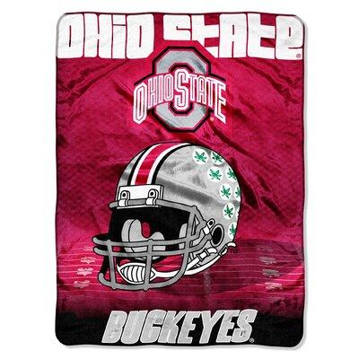 NCAA Ohio State Micro Raschel Throw