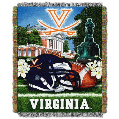 NCAA Virginia Tapestry Throw