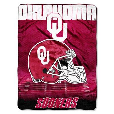 NCAA Oklahoma Micro Raschel Throw