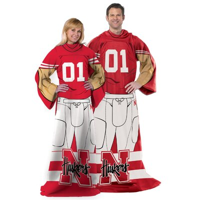 College NCAA Nebraska Comfy Throw