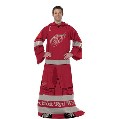 NHL Detroit Red Wings Full Body Comfy Fleece Throw