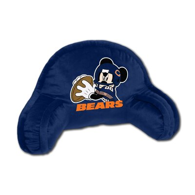 NFL Chicago Bears Mickey Mouse Bed Rest Pillow