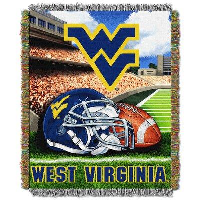 NCAA West Virginia Tapestry Throw