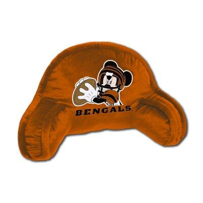NFL Cincinnati Bengals Mickey Mouse Bed Rest Pillow