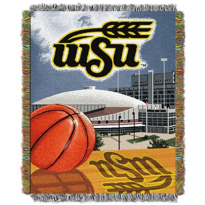 NCAA Wichita State Tapestry Throw