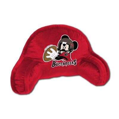 NFL Tampa Bay Buccaneers Mickey Mouse Bed Rest Pillow