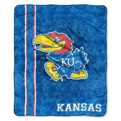 College NCAA Kansas Sherpa Throw