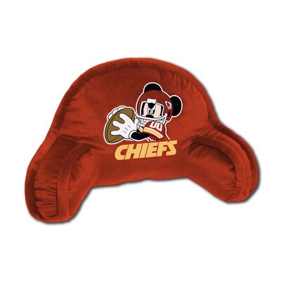 NFL Kansas City Chiefs Mickey Mouse Bed Rest Pillow