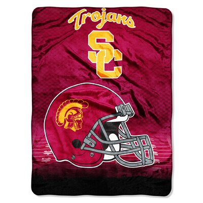 College NCAA University of Southern California Micro Raschel Throw