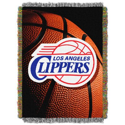 NBA Clippers Photo Real Tapestry Throw