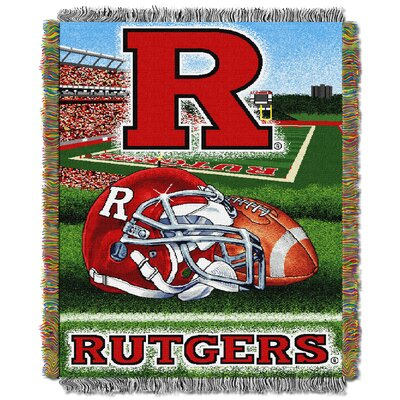 NCAA Rutgers Tapestry Throw