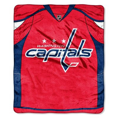 NHL Washington Capitals Puck Super Plush Throw