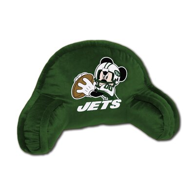 NFL New York Jets Mickey Mouse Bed Rest Pillow