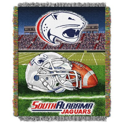 NCAA South Alabama Tapestry Throw