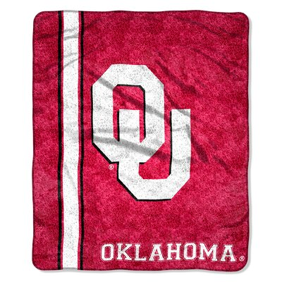 College NCAA Oklahoma Sherpa Throw