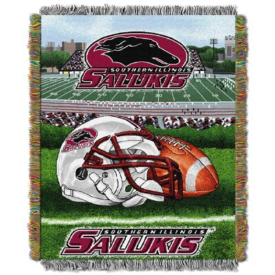 NCAA Southern Illinois Tapestry Throw
