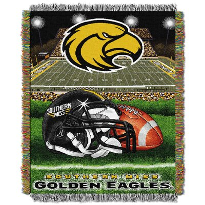 NCAA Southern Mississippi Tapestry Throw