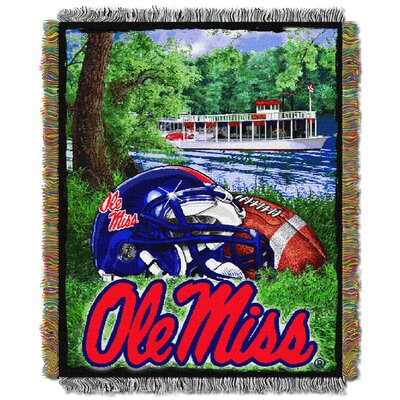 NCAA Ole Miss Tapestry Throw