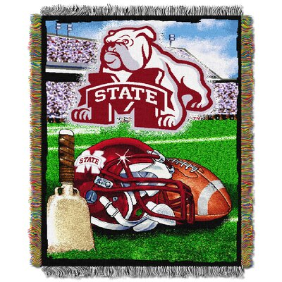 NCAA Mississippi State Tapestry Throw