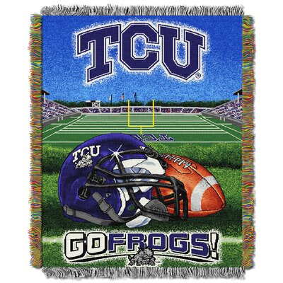 NCAA TCU Tapestry Throw
