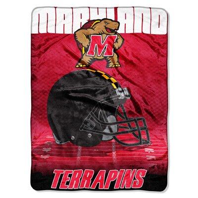 NCAA Maryland Micro Raschel Throw
