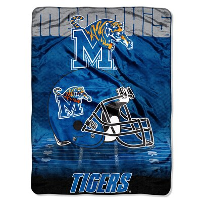 College NCAA Memphis Micro Raschel Throw