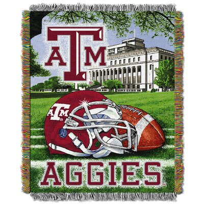 NCAA Texas A&M Tapestry Throw
