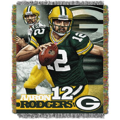 NFL Aaron Rodgers -Packers Player Throw Blanket