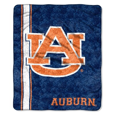 College NCAA Auburn Sherpa Throw