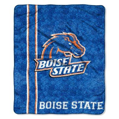 College NCAA Boise State Sherpa Throw