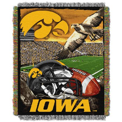 NCAA Iowa Tapestry Throw