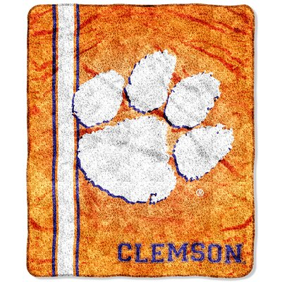 College NCAA Clemson Sherpa Throw