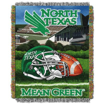 NCAA North Texas Tapestry Throw