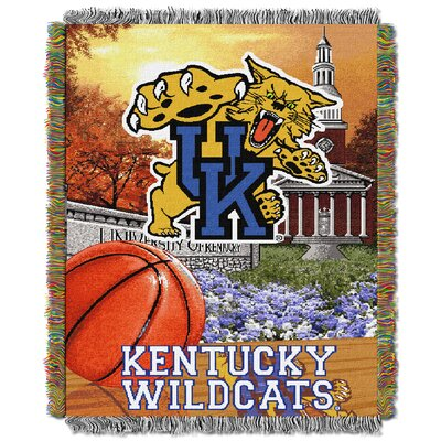 NCAA Kentucky Tapestry Throw Blanket