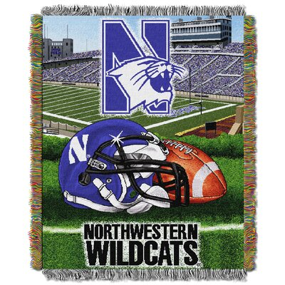 NCAA Northwestern Tapestry Throw