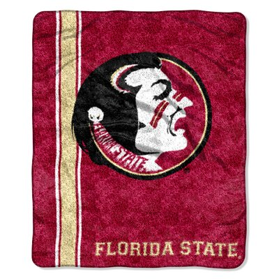 Collegiate Florida State Polyester Sherpa Throw