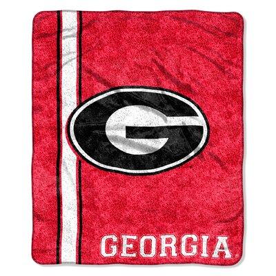 College NCAA Georgia Sherpa Throw