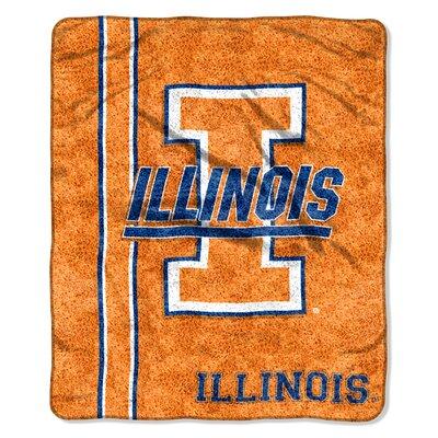 College NCAA Illinois Sherpa Throw