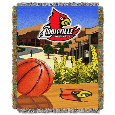 NCAA Louisville Tapestry Throw