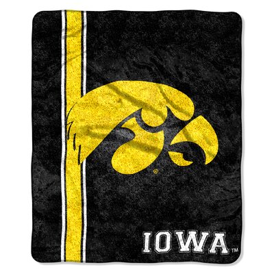 College NCAA Iowa Sherpa Throw