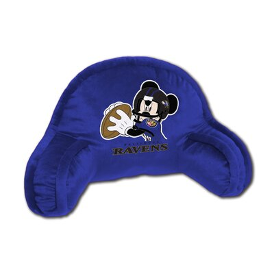 NFL Baltimore Ravens Mickey Mouse Bed Rest Pillow