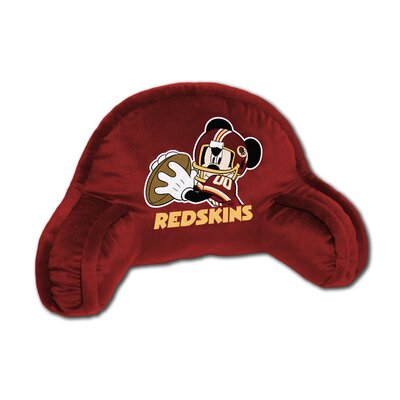 NFL Washington Redskins Mickey Mouse Bed Rest Pillow