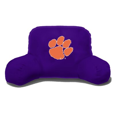 NCAA Clemson Cotton Bed Rest Pillow