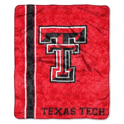 College NCAA Texas Tech Sherpa Throw