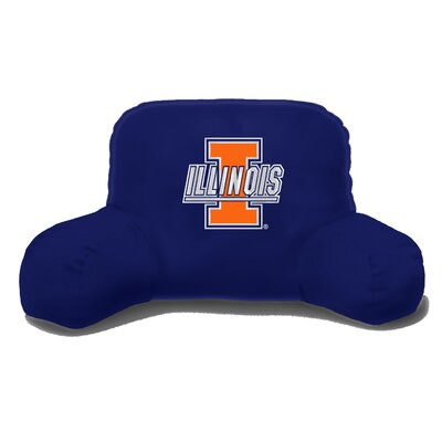 College NCAA Illinois Bed Rest Pillow